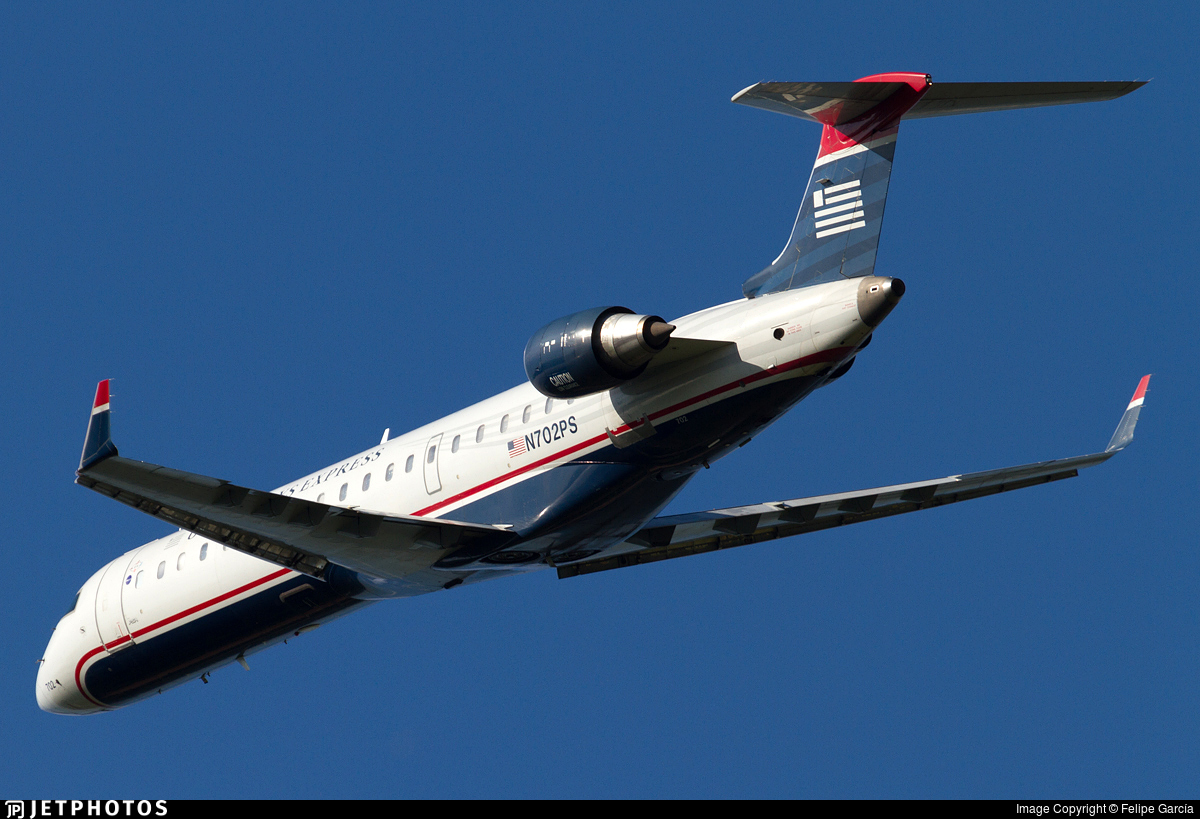 N702PS - Bombardier CRJ-701 - US Airways Express (PSA Airlines)