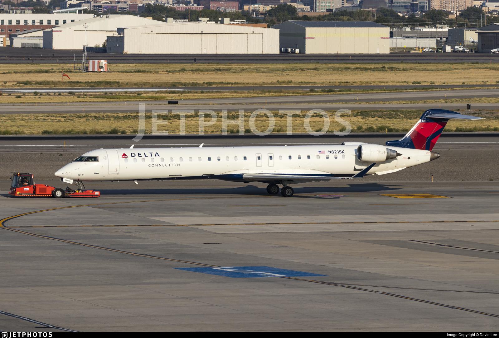 N821SK - Bombardier CRJ-900ER - Delta Connection (SkyWest Airlines)