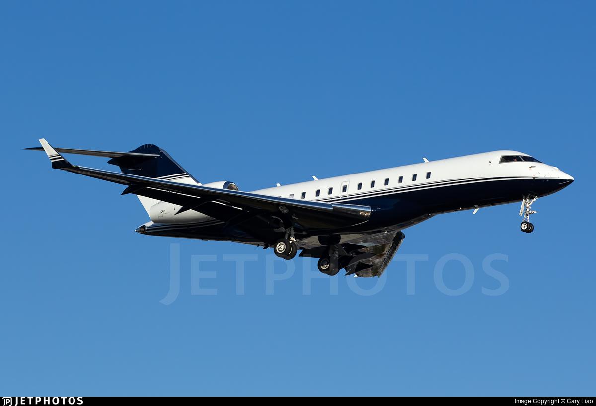 N898MJ - Bombardier BD-700-1A10 Global 6000 - Private