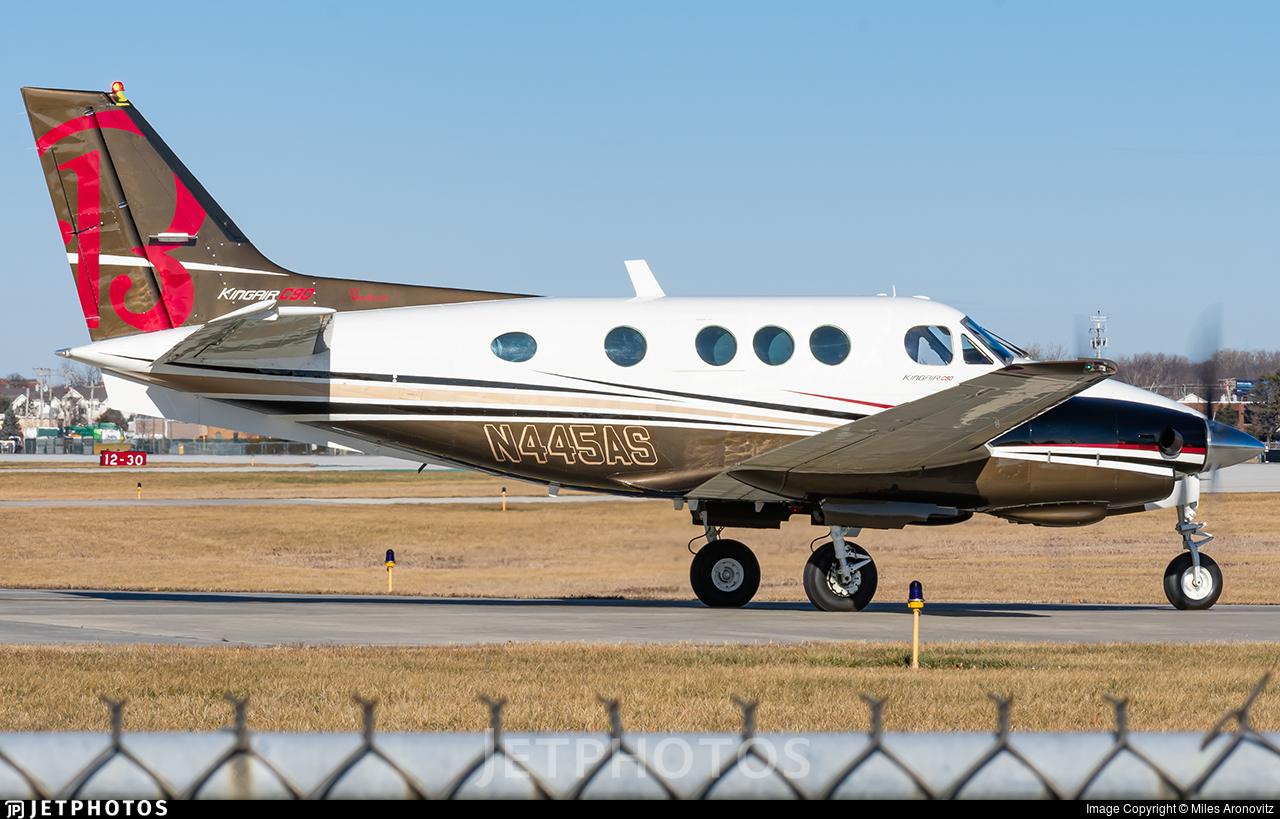N445AS - Beechcraft C90 King Air - Private