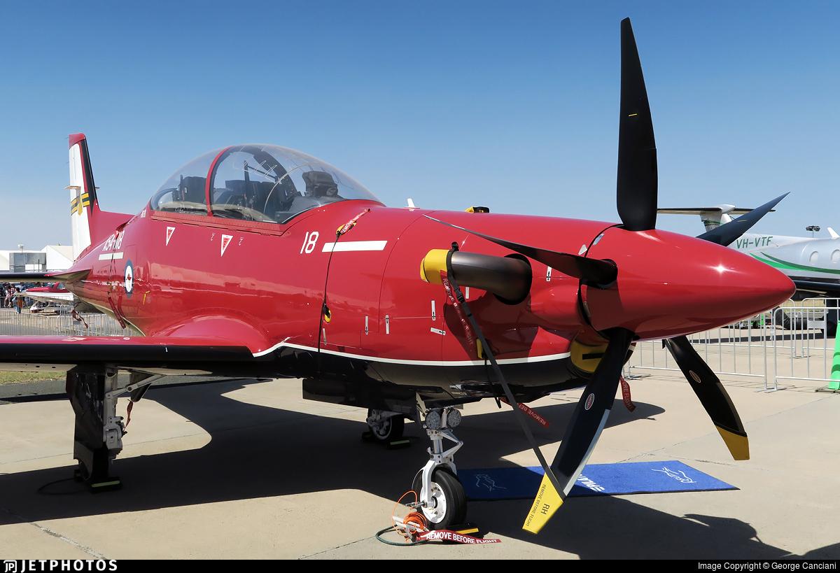 A54-018 - Pilatus PC-21 - Australia - Royal Australian Air Force (RAAF)