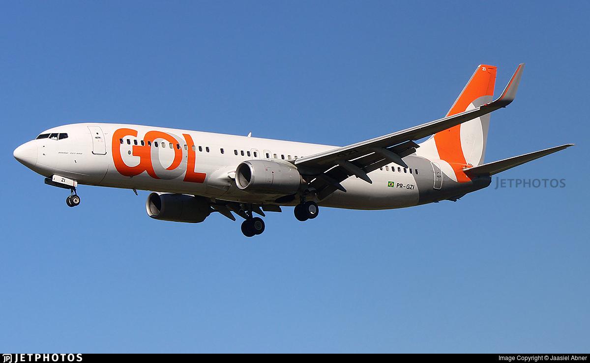 PR-GZI - Boeing 737-86N - GOL Linhas Aereas