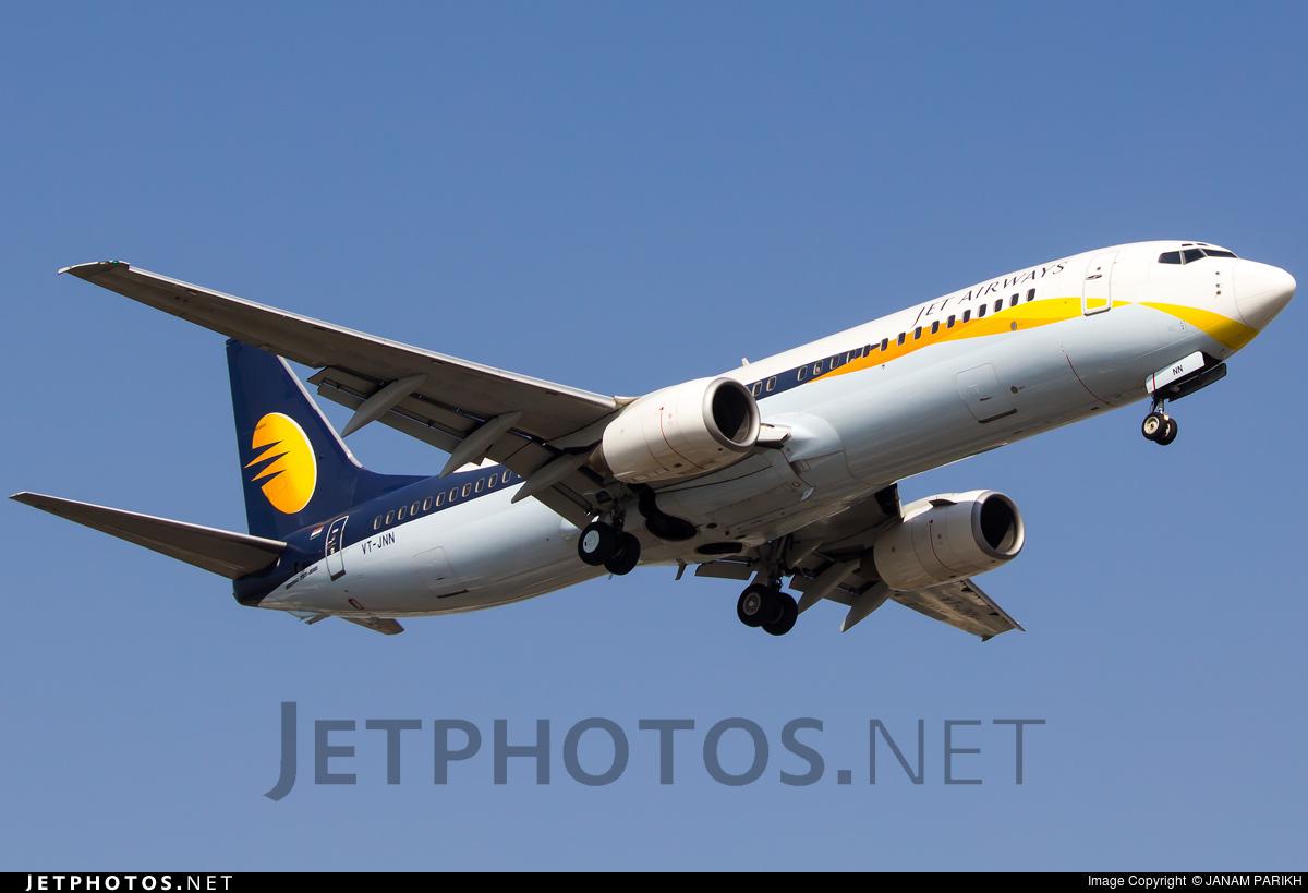 VT-JNN - Boeing 737-85R - Jet Airways