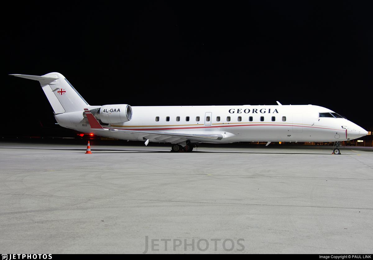 4L-GAA - Bombardier CL-600-2B19 Challenger 850 - Georgia - Government