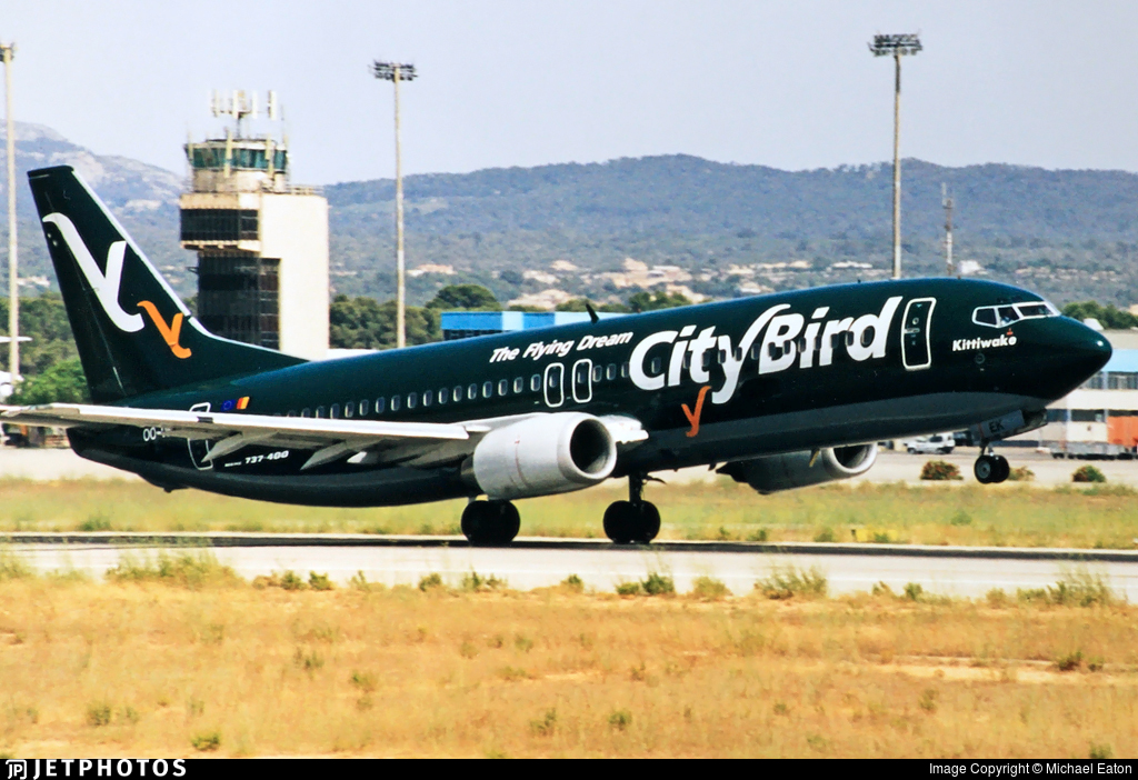 OO-VEK - Boeing 737-405 - CityBird