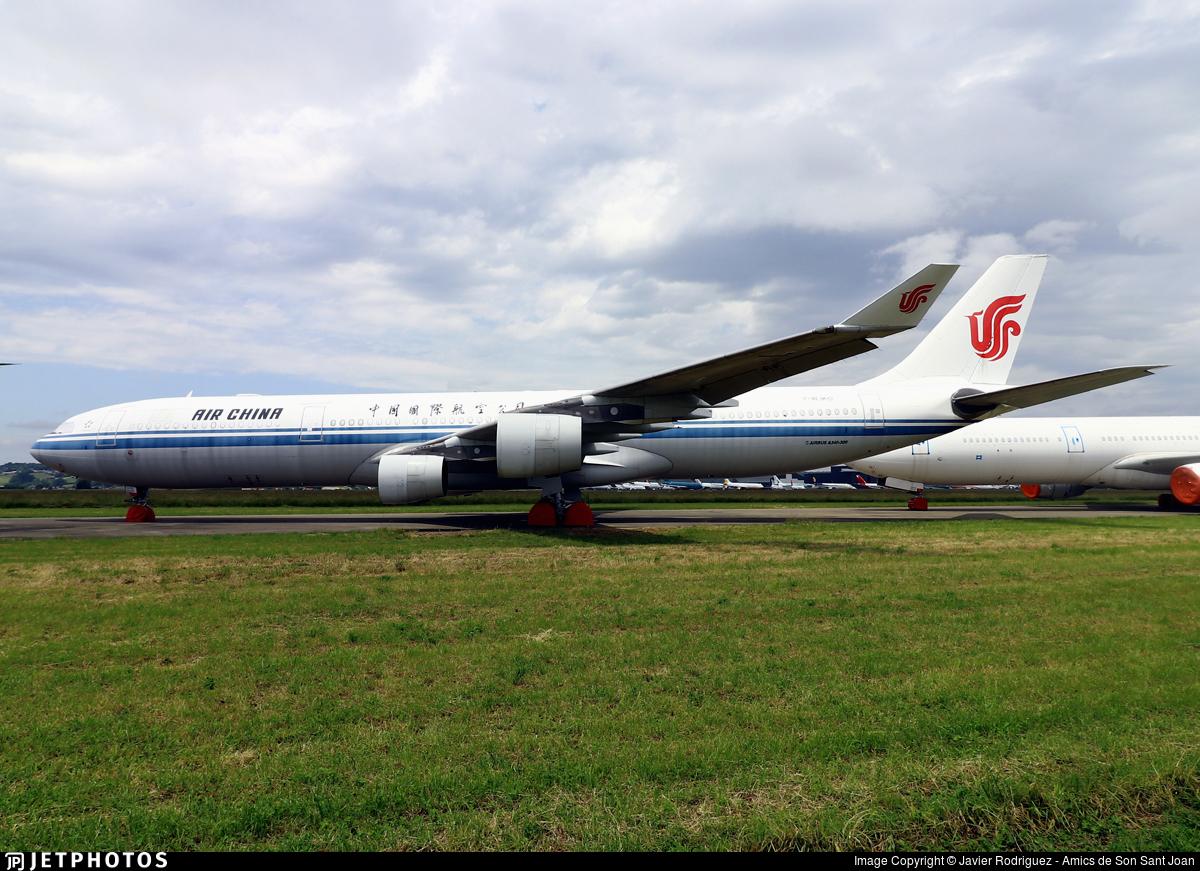 F-WJKO - Airbus A340-313X - Air China