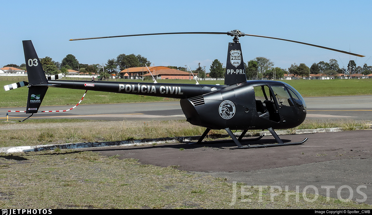 PP-PRL - Robinson R44 Raven II - Brazil - Government of Parana