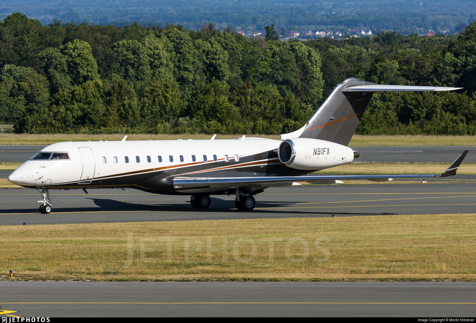 N91FX - Bombardier BD-700-1A10 Global Express - Flexjet