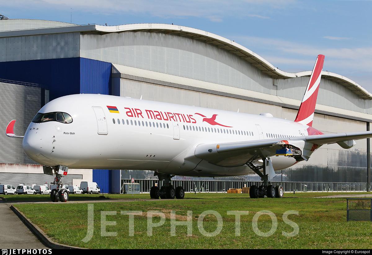 F-WZFQ - Airbus A350-941 - Air Mauritius