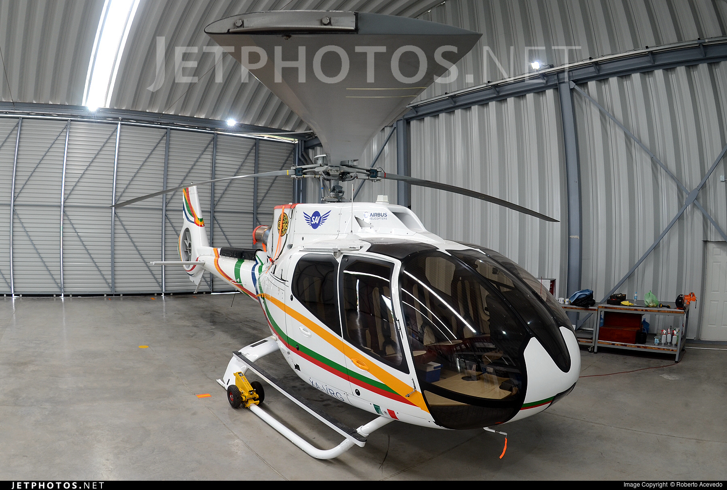XA-VRG - Eurocopter EC 130T2 - Private