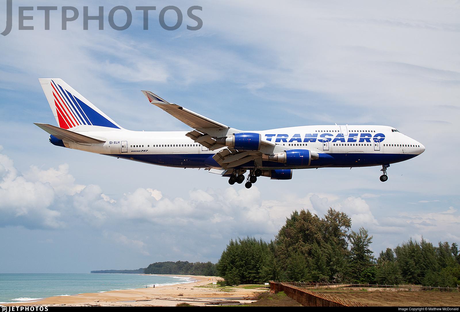 EI-XLH - Boeing 747-446 - Transaero Airlines