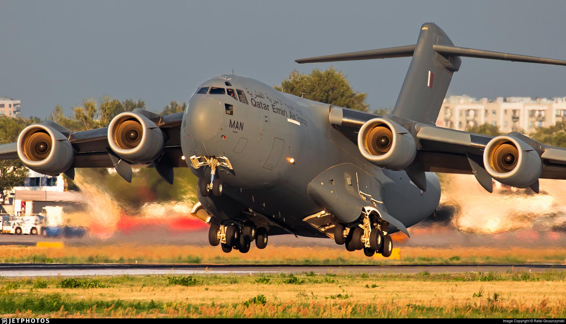 A7-MAN - Boeing C-17A Globemaster III - Qatar - Air Force