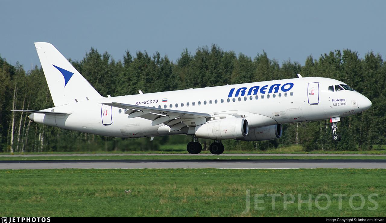RA-89078 - Sukhoi Superjet 100-95LR - IrAero