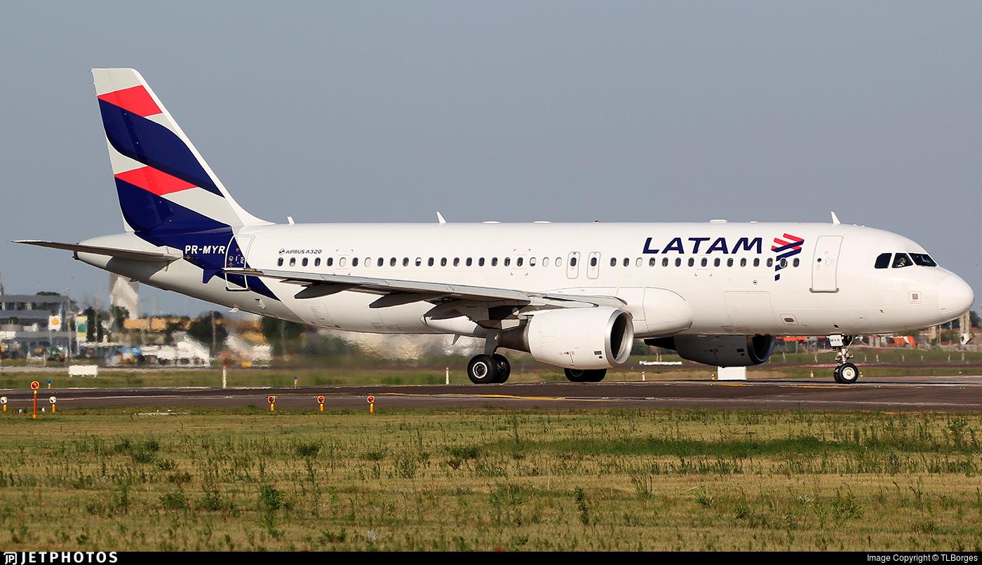 PR-MYR - Airbus A320-214 - LATAM Airlines
