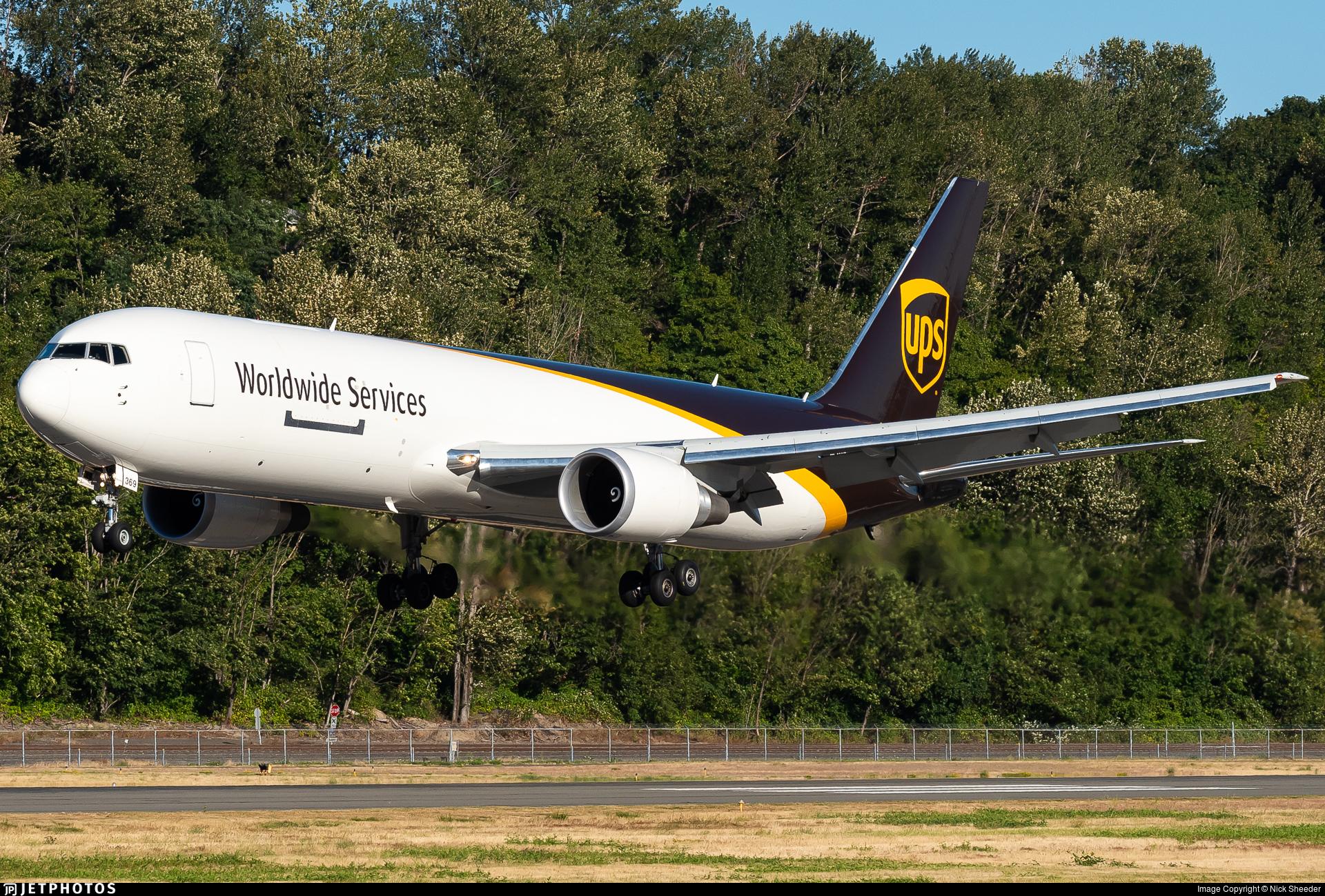 N369UP - Boeing 767-300F(ER) - United Parcel Service (UPS)