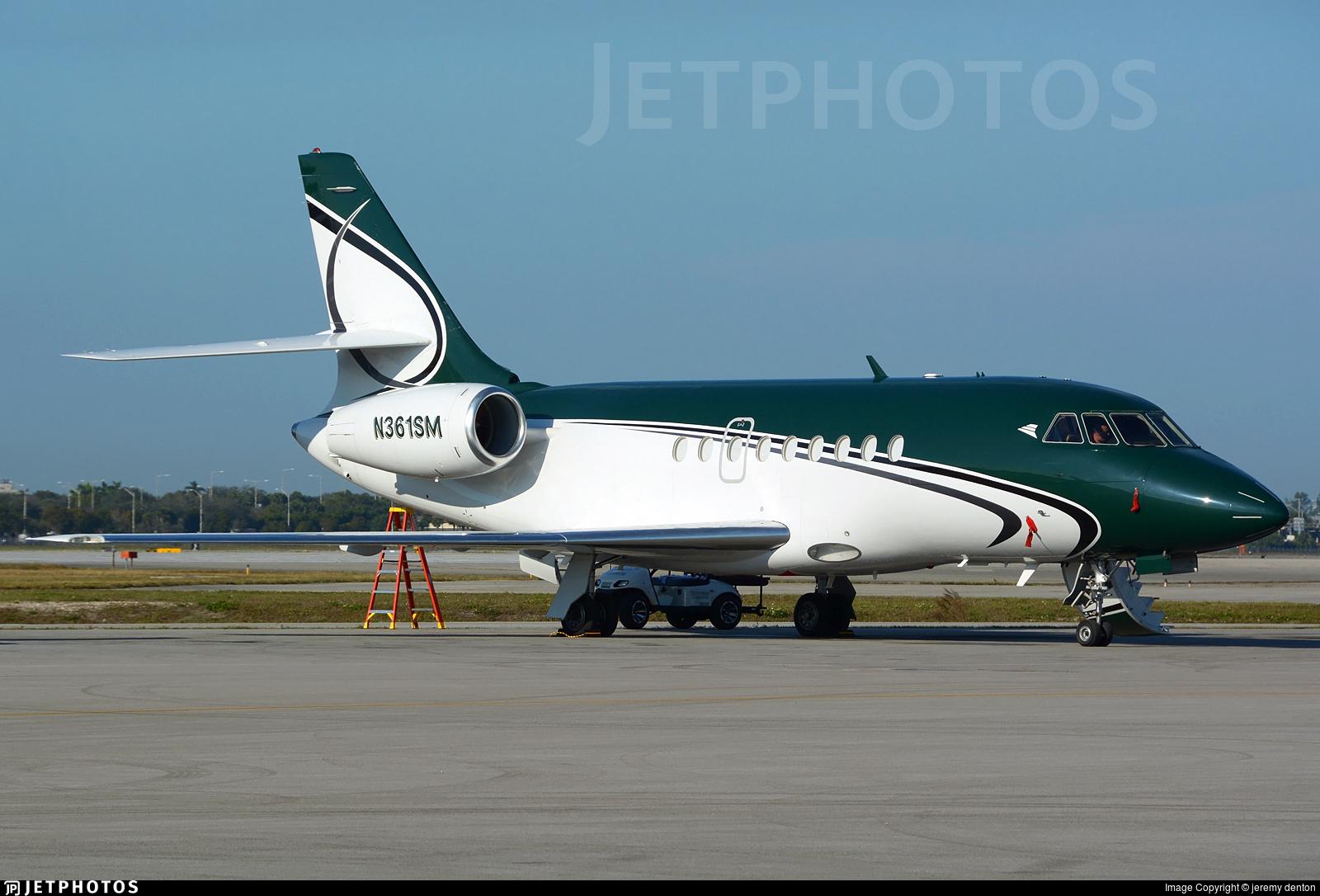 N361SM - Dassault Falcon 2000 - Private
