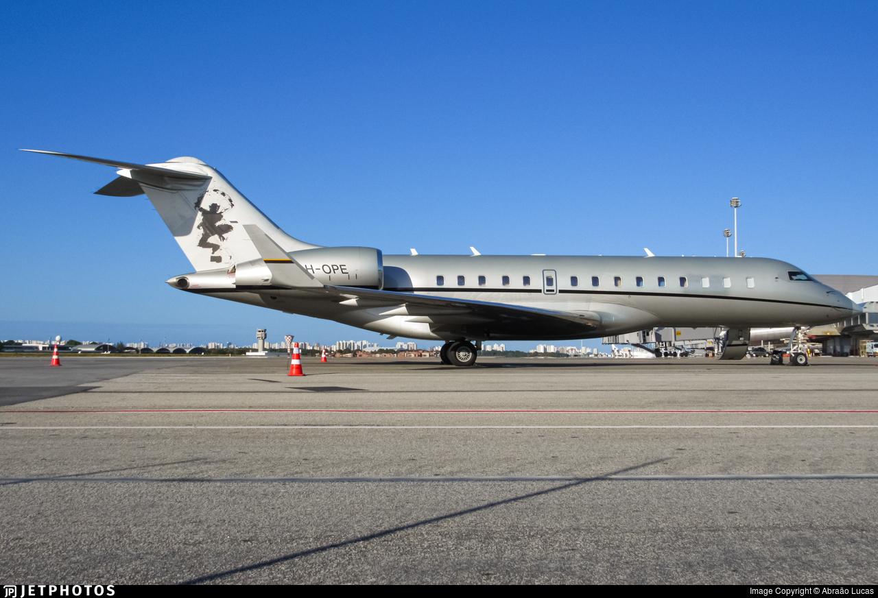 9H-OPE - Bombardier BD-700-1A10 Global Express XRS - VistaJet