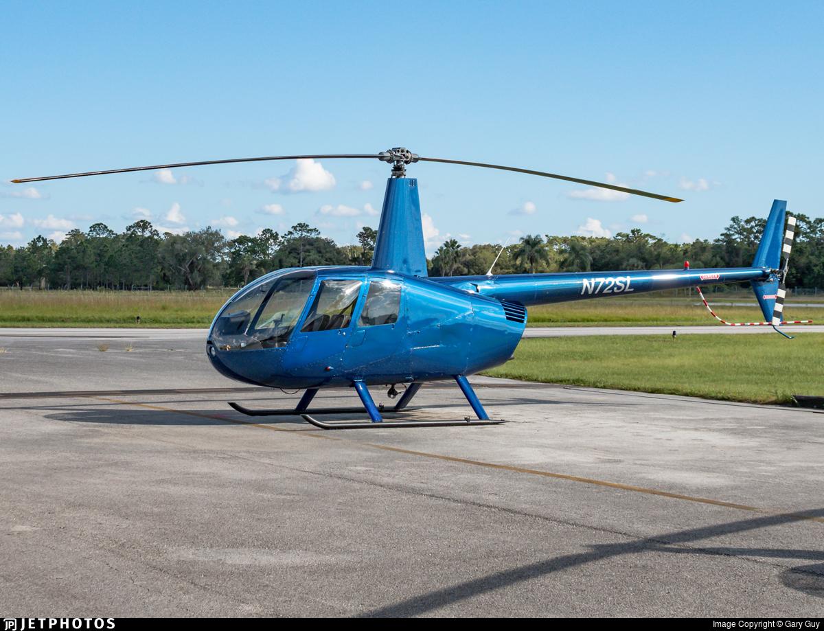 N72SL - Robinson R44 Raven - Private