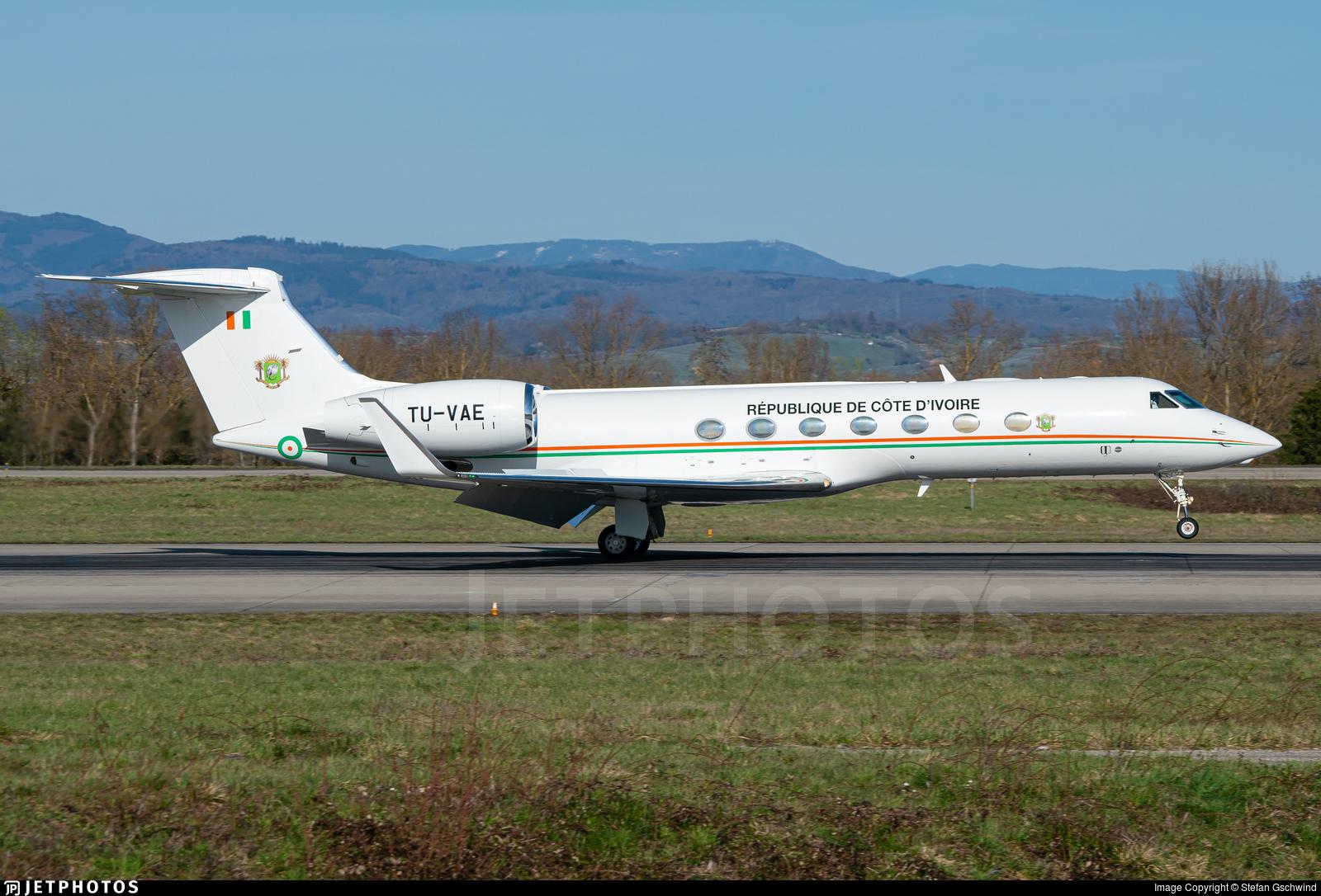 TU-VAE - Gulfstream G550 - Ivory Coast - Air Force
