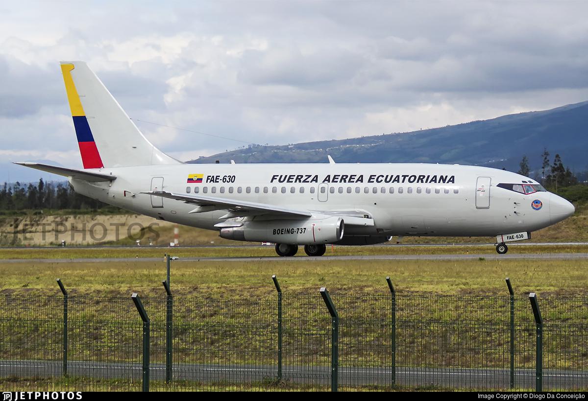 FAE-630 - Boeing 737-236(Adv) - Ecuador - Air Force
