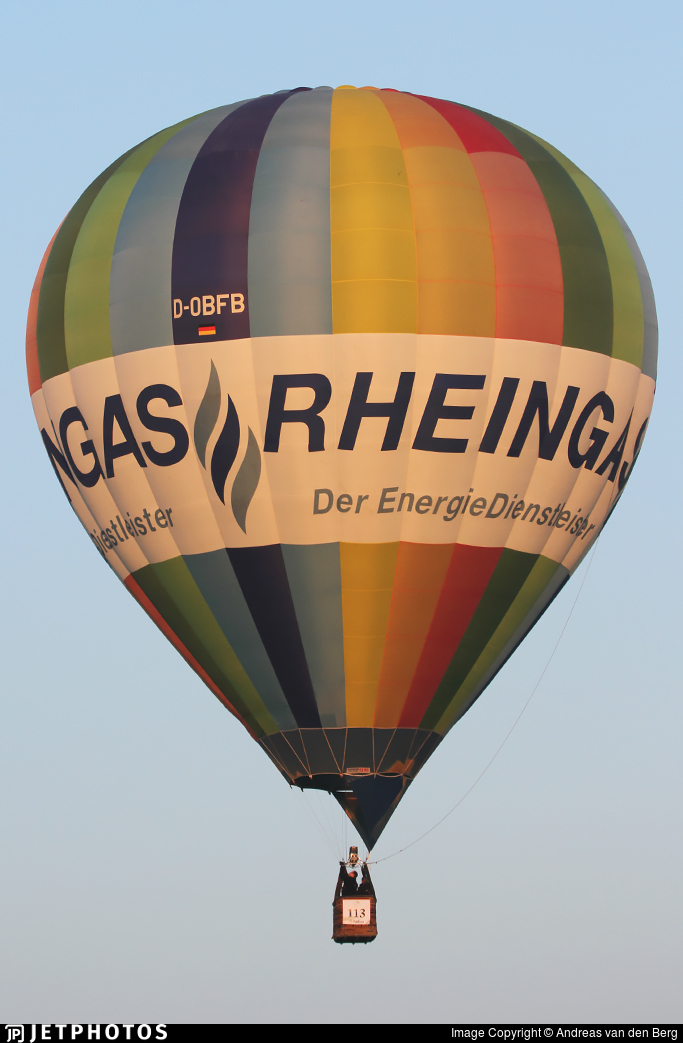 D-OBFB - Cameron Z-105 - Ballonfreunde Brühl