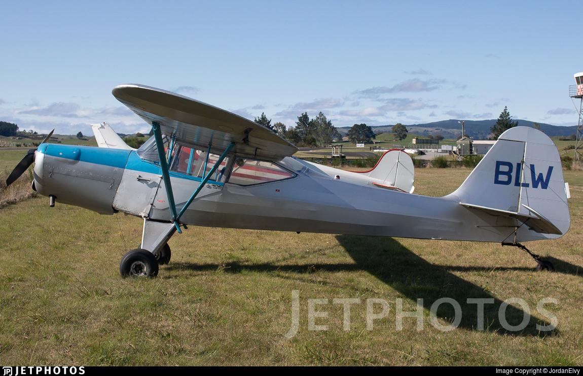 ZK-BLW - Auster J5R Alpine - Private