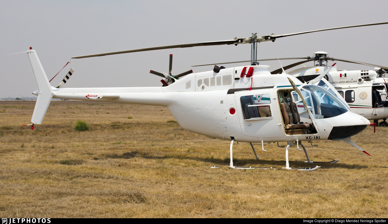 XC-IAI - Bell 206L-4 Long Ranger IV - Mexico - Government