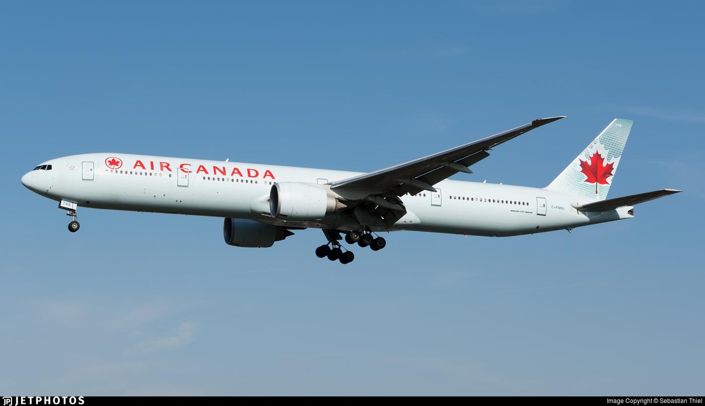 C-FNNU - Boeing 777-333ER - Air Canada