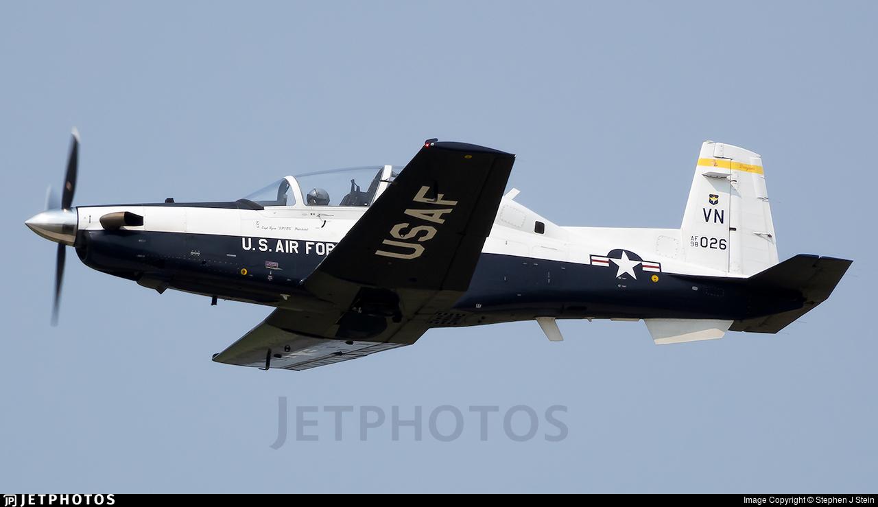 98-3026 - Raytheon T-6A Texan II - United States - US Air Force (USAF)