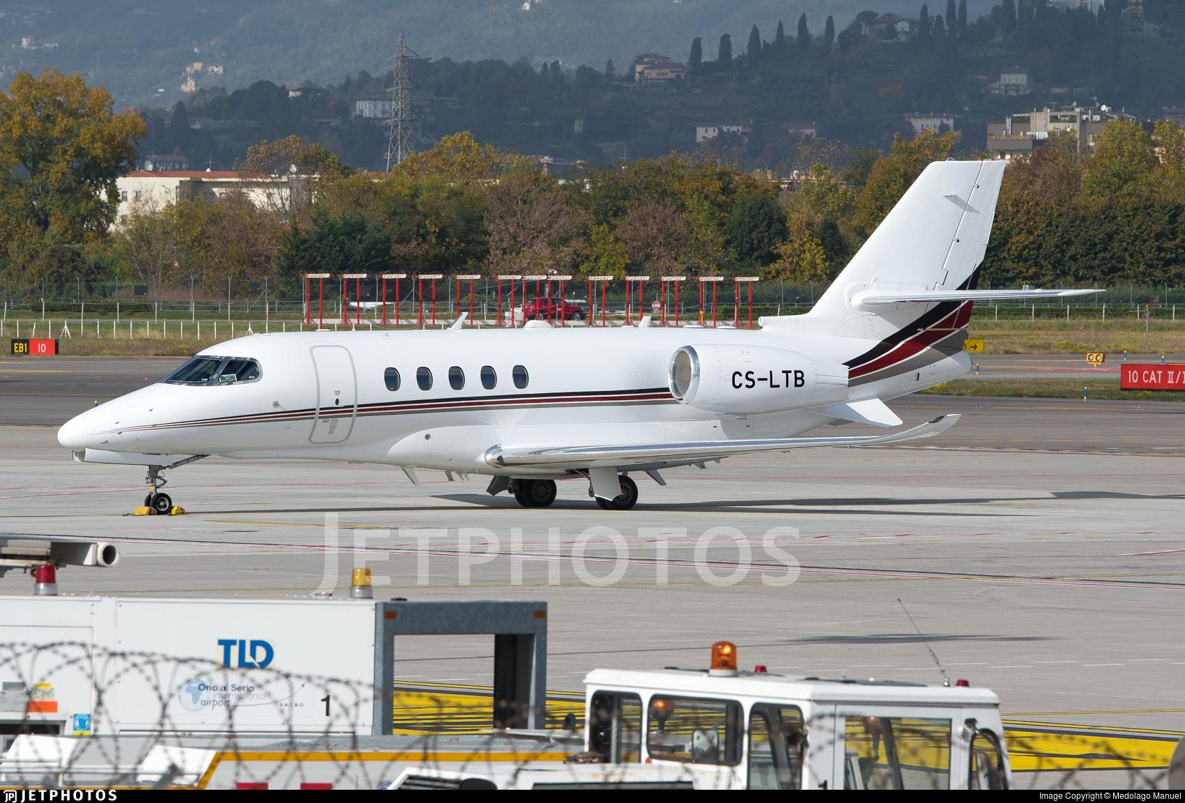 CS-LTB | Cessna Citation Latitude | NetJets Europe