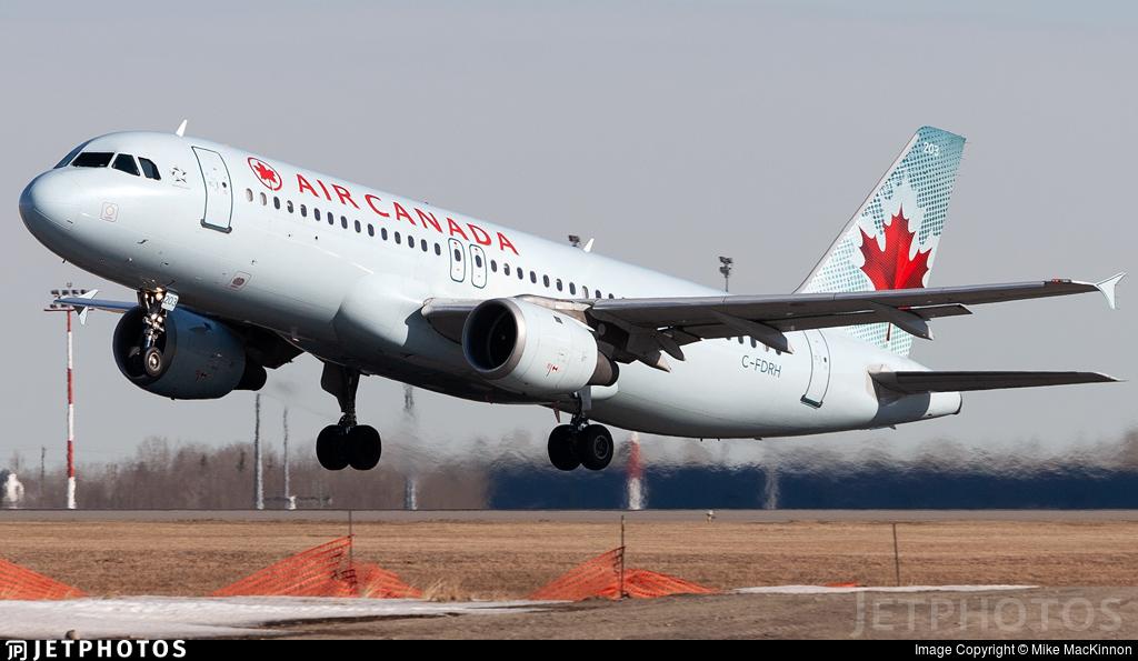 C-FDRH - Airbus A320-211 - Air Canada