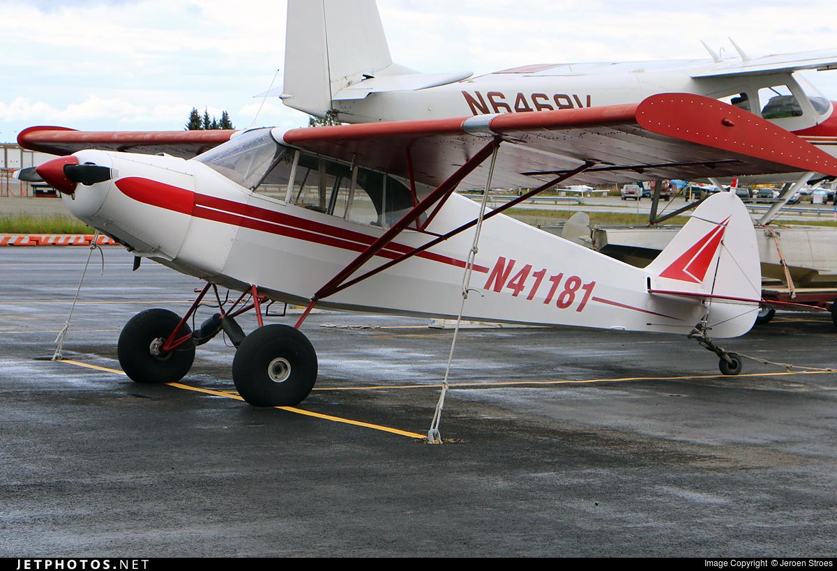 N41181 - Piper J-5A Cub Cruiser - Private