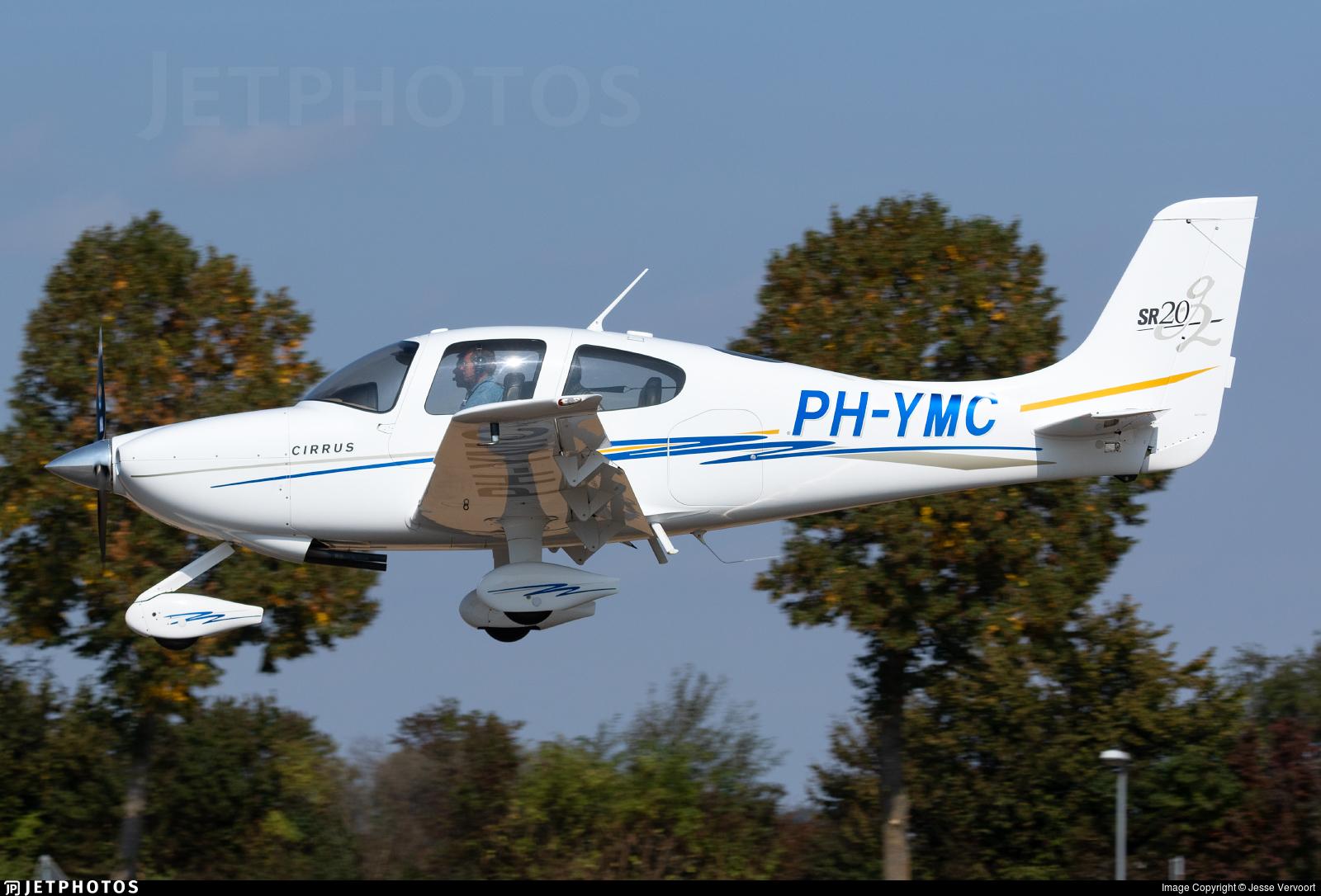 PH-YMC - Cirrus SR20-G2 - Private