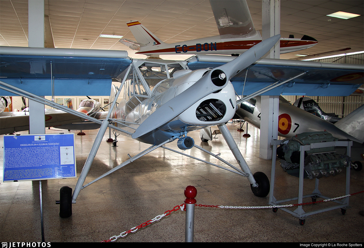 L.16-23 - Fieseler Fi156C-2 Storch - Spain - Air Force