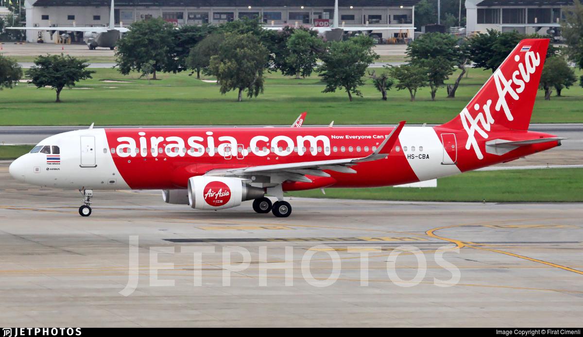 HS-CBA - Airbus A320-214 - Thai AirAsia