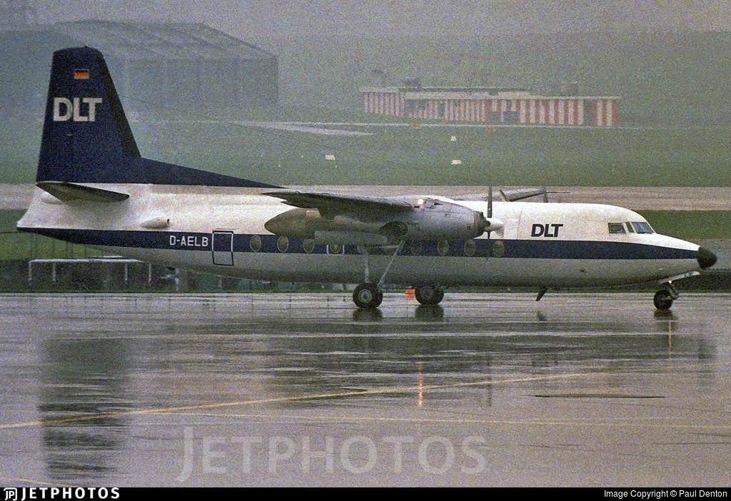 D-AELB - Fokker F27-600 Friendship - DLT