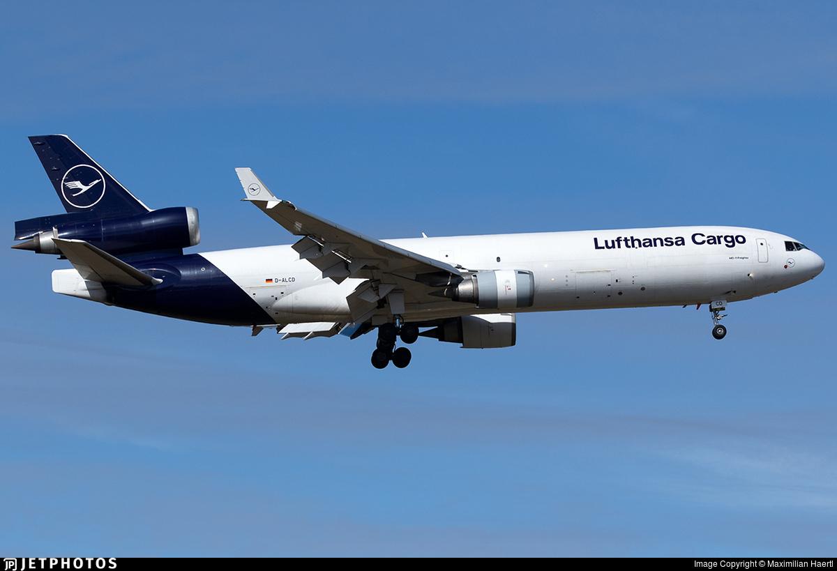 D-ALCD - McDonnell Douglas MD-11(F) - Lufthansa Cargo