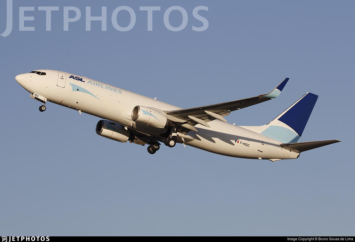 F-HIQC - Boeing 737-8AS(BCF) - ASL Airlines