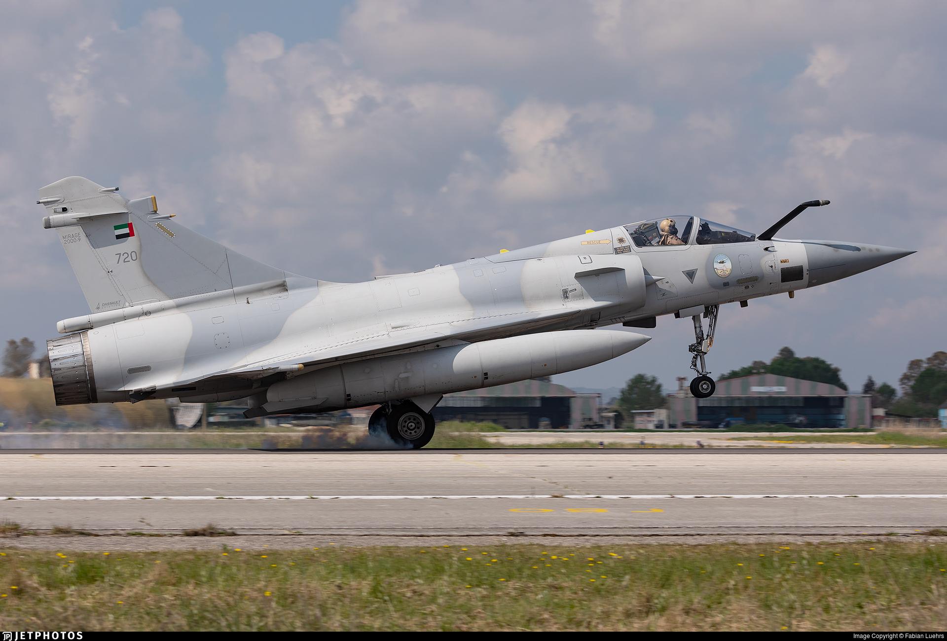 720 - Dassault Mirage 2000-9 - United Arab Emirates - Air Force