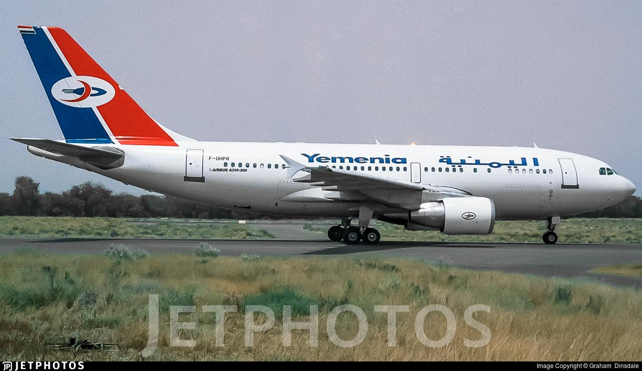 F-OHPR - Airbus A310-324 - Yemenia - Yemen Airways