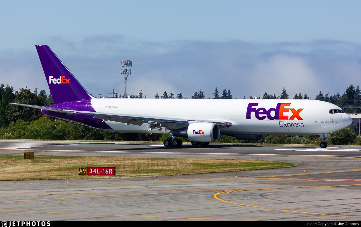 N272FE - Boeing 767-3S2F(ER) - FedEx