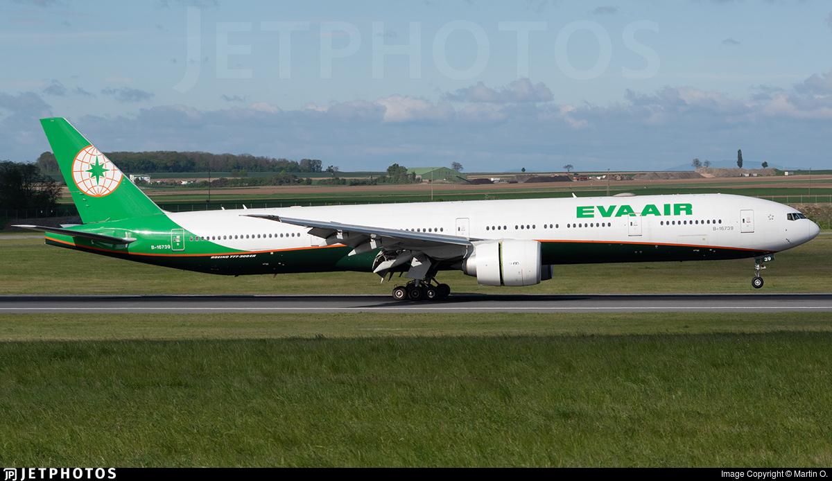 B-16739 - Boeing 777-35EER - Eva Air