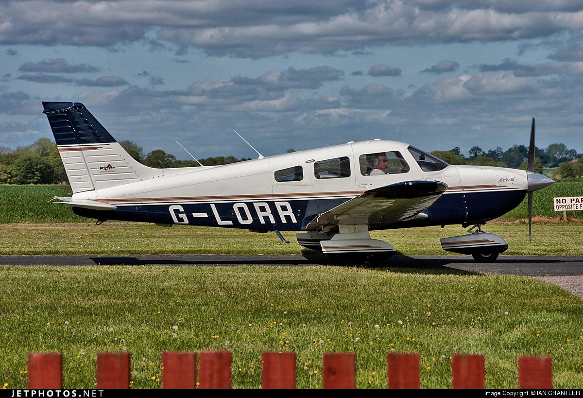 G-LORR - Piper PA-28-181 Archer III - Private
