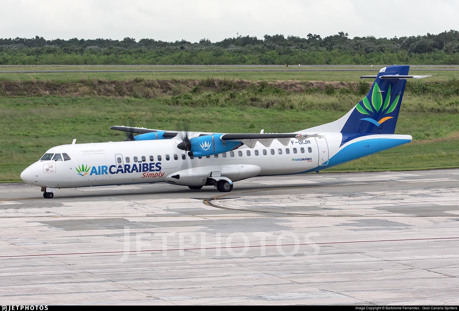 F-OIJH - ATR 72-212A(500) - Air Caraibes simply