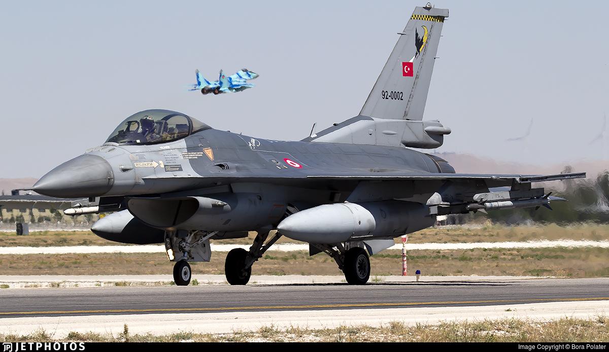 92-0002 - Lockheed Martin F-16C Fighting Falcon - Turkey - Air Force