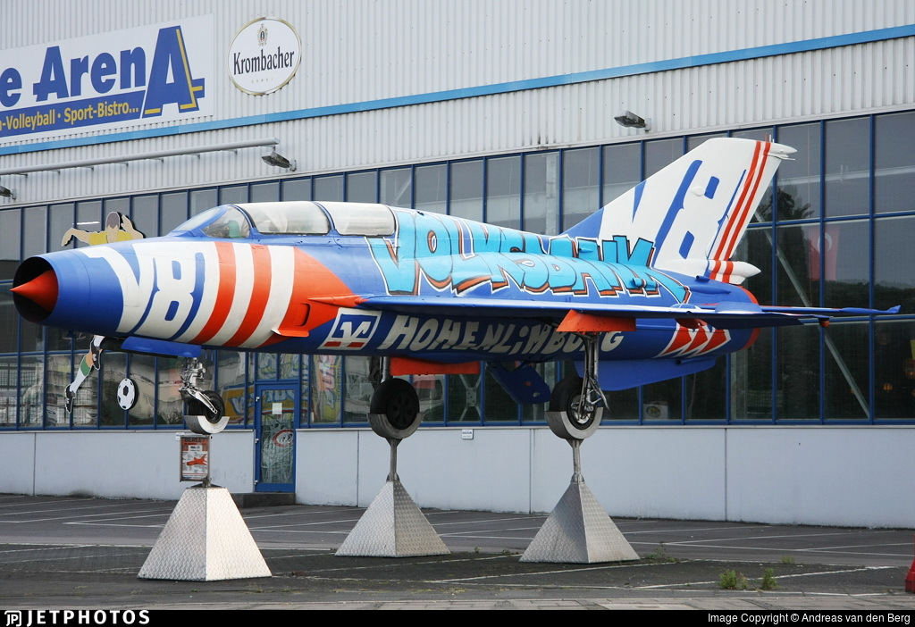 297 - Mikoyan-Gurevich MiG-21U Mongol A - Private