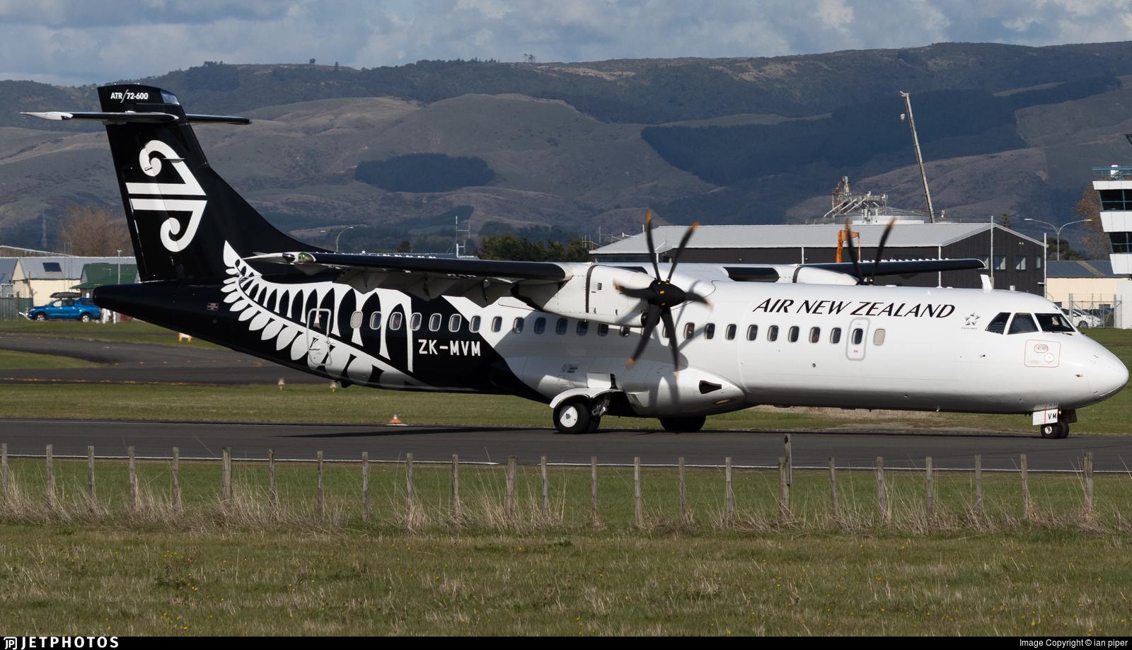 ZK-MVM - ATR 72-212A(600) - Air New Zealand