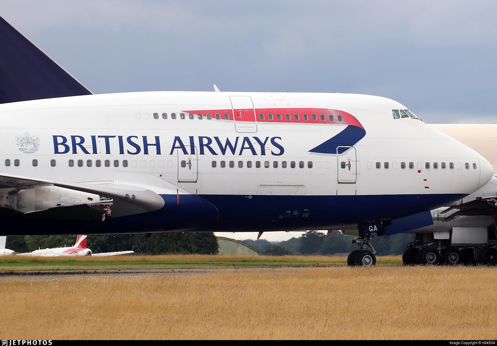 G-BYGA - Boeing 747-436 - British Airways