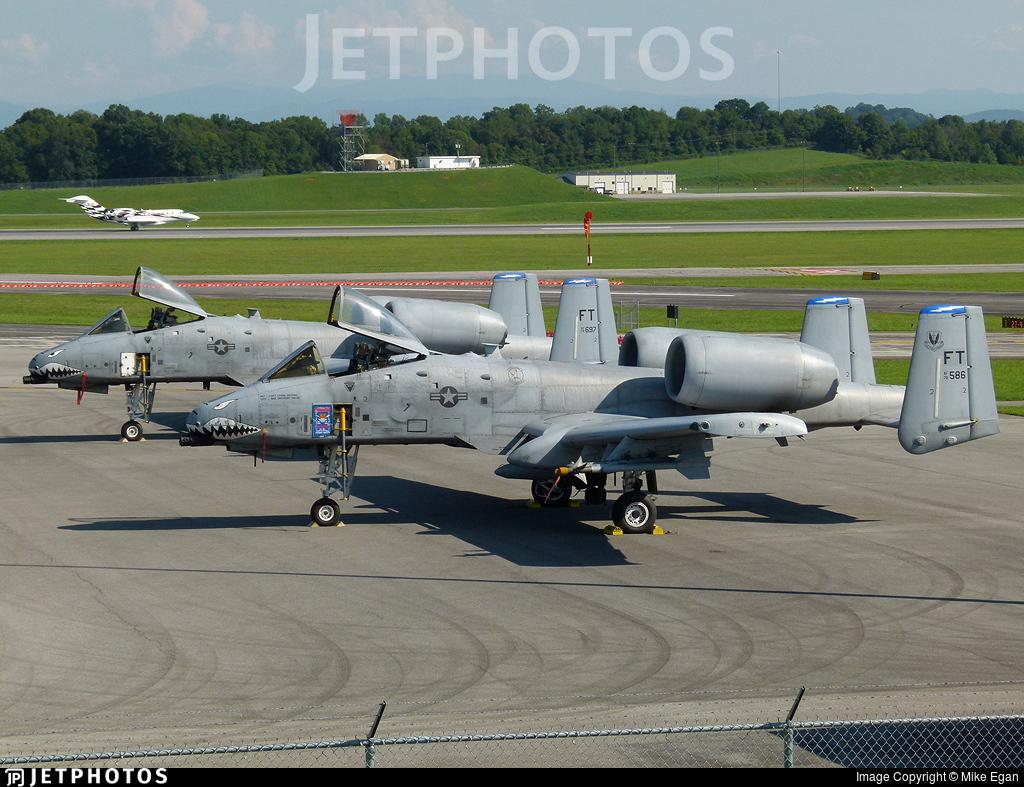 78-0586 - Fairchild A-10C Thunderbolt II - United States - US Air Force (USAF)