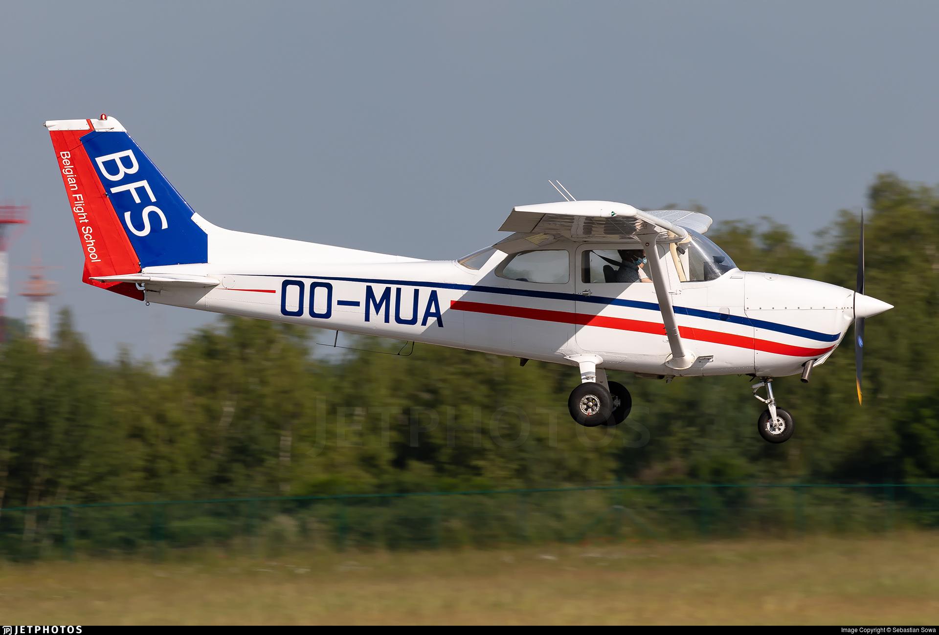 OO-MUA - Reims-Cessna F172N Skyhawk II - Belgian Flight School (BFS)